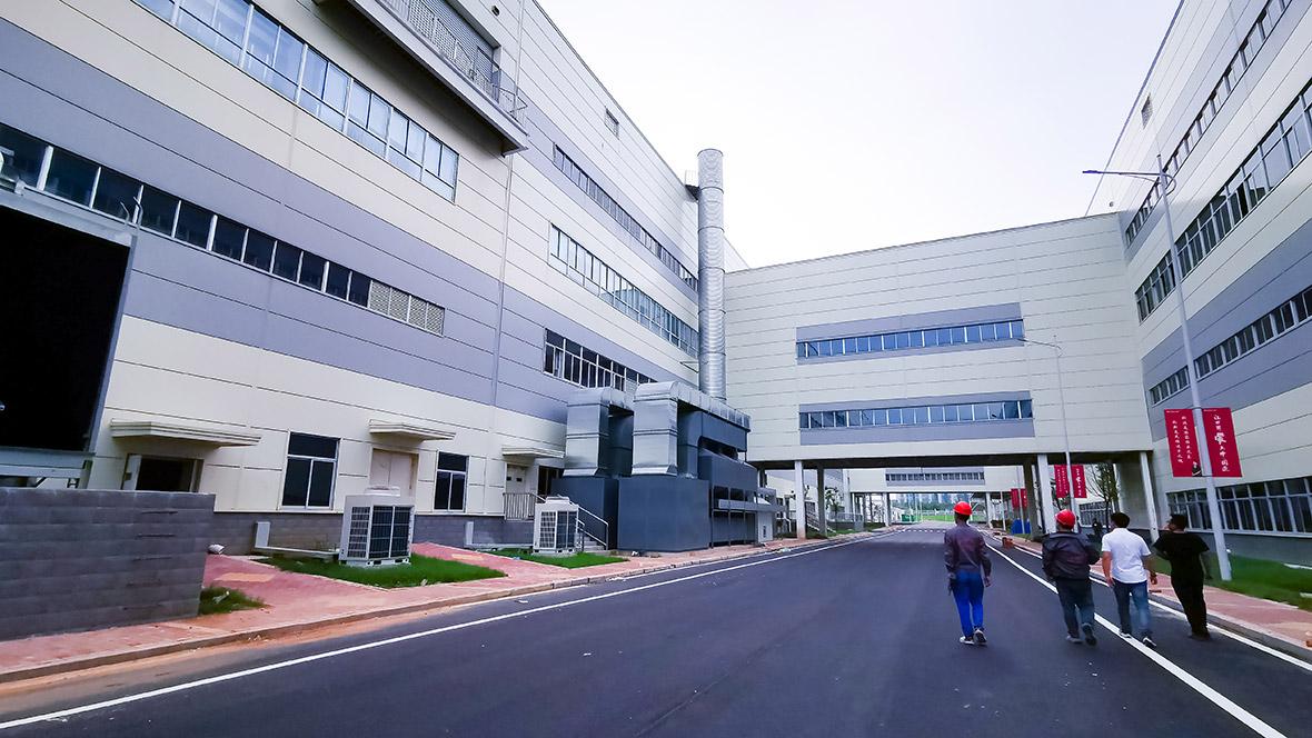万豫暖通与格力工厂安装矩形风管案例