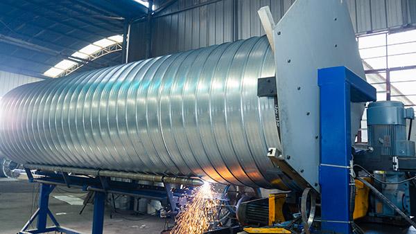 万豫暖通小课堂:不锈钢螺旋风管安装中出现破损怎么办?