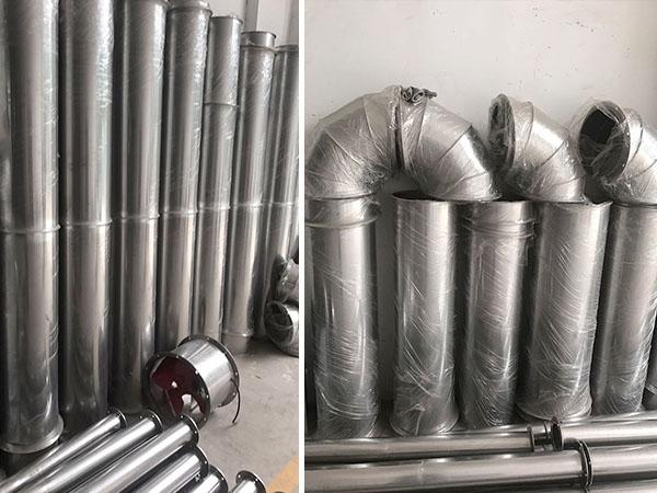 不锈钢焊接风管加工