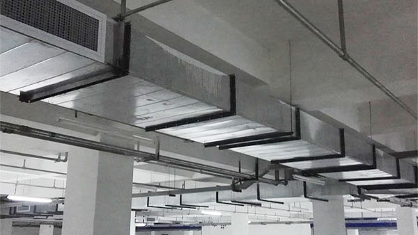 万豫暖通不锈钢螺旋风管正确的安装方法