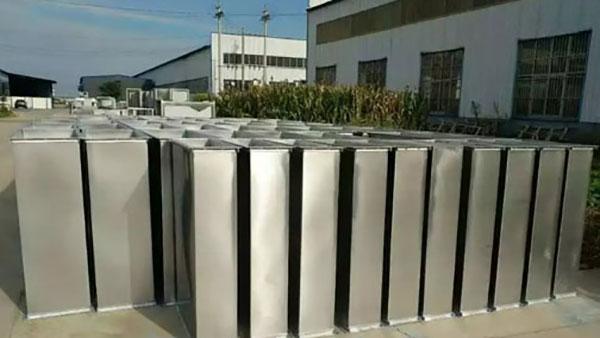 万豫暖通不锈钢焊接风管加工的步骤及质量控制