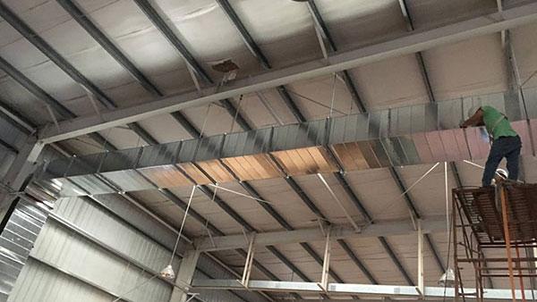 不锈钢螺旋风管焊接的常用方法有哪些?