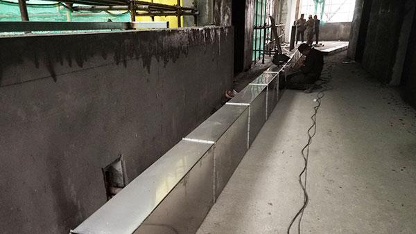 万豫暖通矩形风管防腐保温处理的重要性